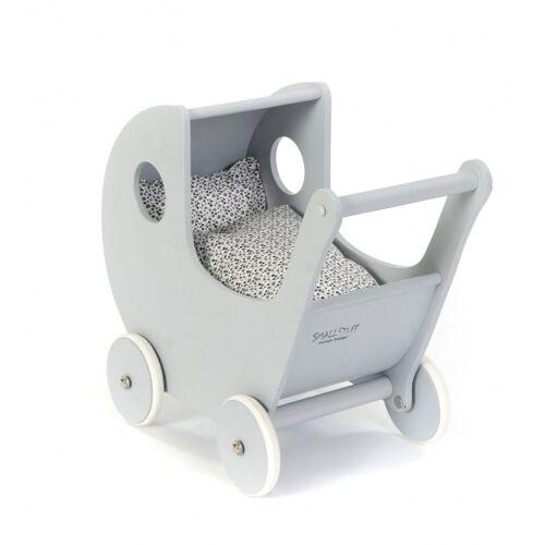 Smallstuff holz Puppenwagen 54 cm grau