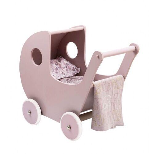 Smallstuff holz Puppenwagen 54 cm rosa