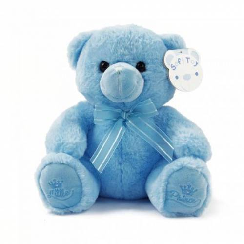 Soft Touch teddybär Kleiner Prinz junior 25 cm blau