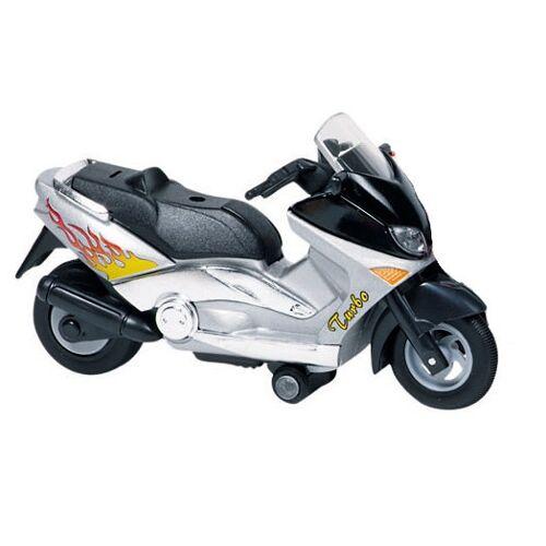 Goki Metal Motor: Motorrad 12,5 cm Grey