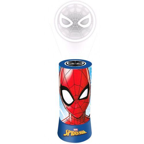 Disney nachtlicht Spider Man Jungen 20 x 9,5 cm blau/rot