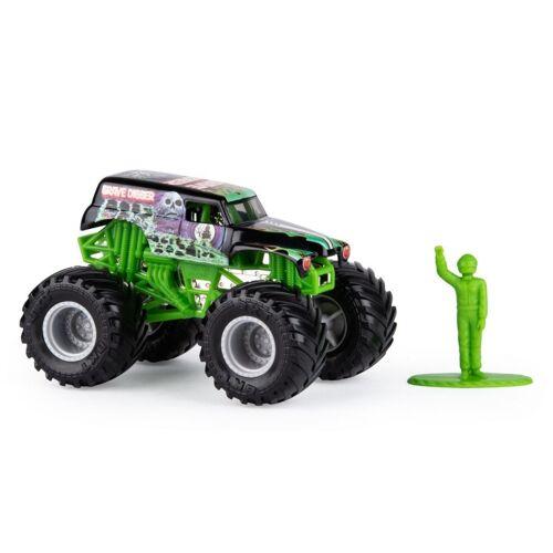 Spin Master monstertruck Monster Jam Grave Digger 10 cm grün