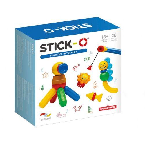 Stick-O Stick O magnetischer Bausatz Fisch 26 teilig mehrfarbig