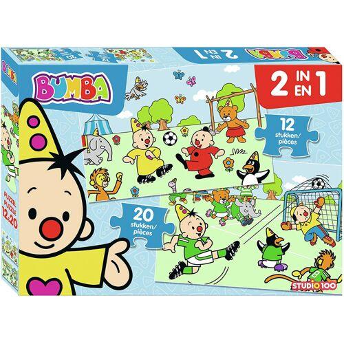 Studio 100 puzzle 2 in 1 Bumba Football 12 und 20 Teile