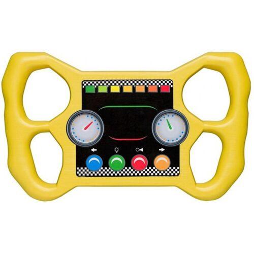 Swing King rennrad für Spielhaus 30 cm gelb
