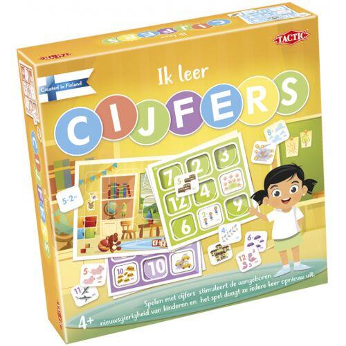 Tactic lernspiel Zahlen Junior Karton gelb 13 Stück