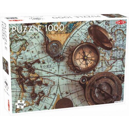 Tactic puzzlespiel Vintage Sea Map 67 x 48 cm Karton 1000 Teile