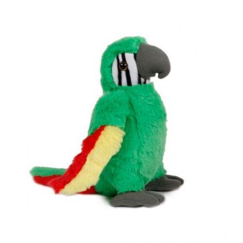 Take Me Home kuscheltier Papagei junior 31 cm Plüsch grün