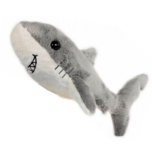 Take Me Home ausgestopfter Hai Junior 24 cm Plüsch grau