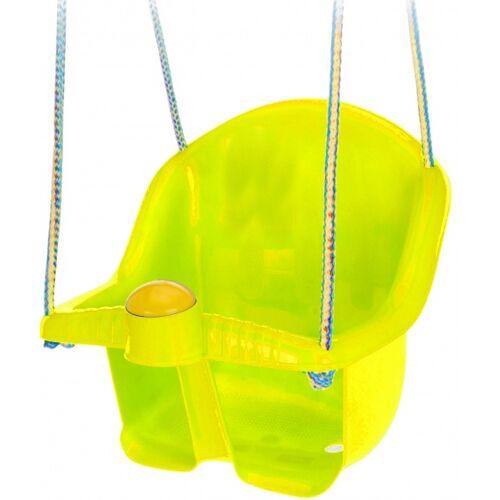 Tender Toys babyschaukel mit Seil 30 cm gelb