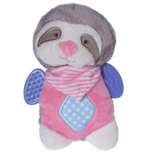 Tender Toys plüschtier Faultier rosa 15 cm