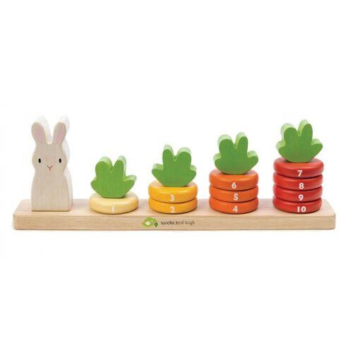 Tender Toys wurzelanzahl Holz Junior 32 x 5,5 x 10,5 cm 16 teilig