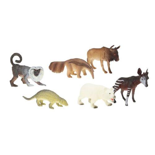 Toi-Toys Toi Toys Tierwelt Wildtiere 6 Stück