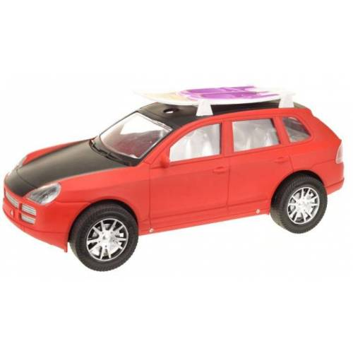 Toi-Toys Toi Toys auto mit Surfbrett rot 31 cm