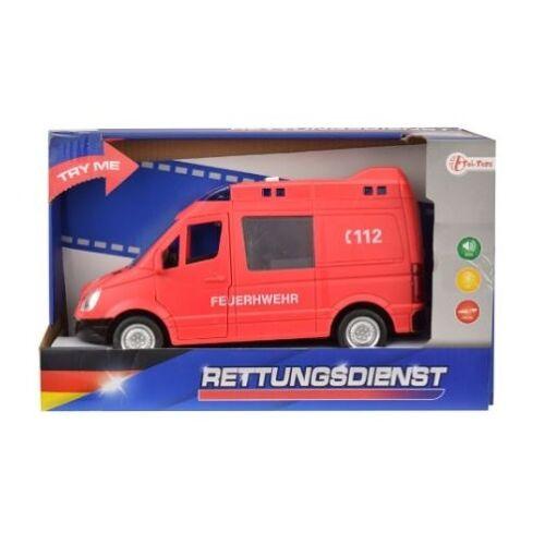 Toi-Toys Toi Toys Feuerwehr mit Licht und Ton 21 cm lang