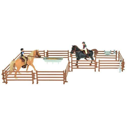 Toi-Toys Toi Toys Pferde Pro Zwei Pferde mit Reitern und Zubehör