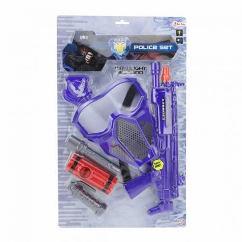 Toi-Toys Toi Toys polizeiset blau 6 teilig 42 cm