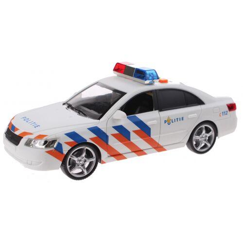 Toi-Toys Toi Toys Polizeiauto mit Ton und Licht 24 cm weiß