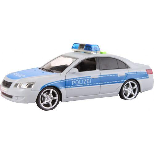 Toi-Toys Toi Toys Polizeiauto mit Ton und Licht 24 cm weiß / blau