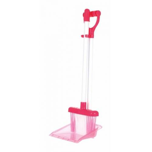 Toi-Toys Toi Toys reinigungsset 5 teilige rosa Kehrmaschine
