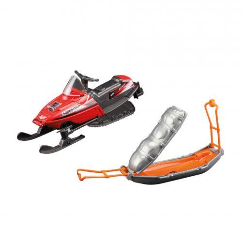 Toi-Toys Toi Toys schneemobil mit Schlitten Jungen Rückzug orange