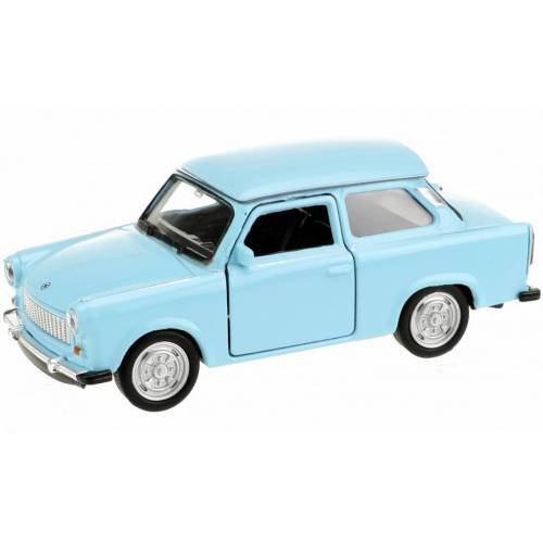 Welly Trabant Auto hellblau 10,5 cm