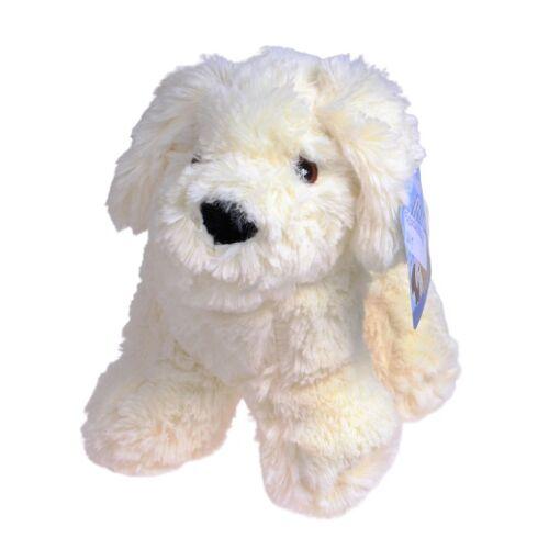 TOM stofftier Hund Junior 20 cm Plüsch weiß