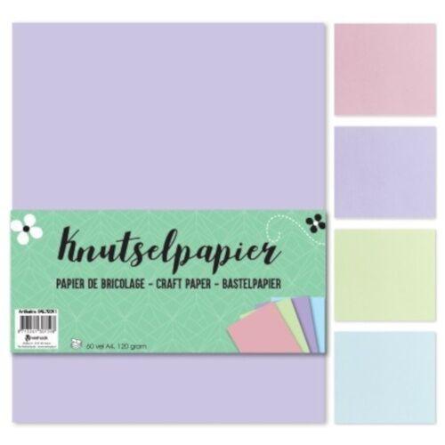 TOM bastelpapier Pastell junior A4 Papier 60 Blatt