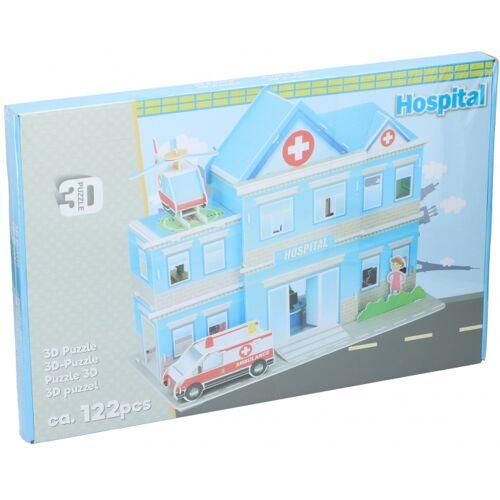 TOM 3D Puzzle ziekenhuis Schaumstoff 122 Teile