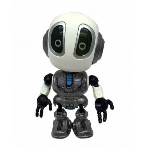 TOM roboter mit Diktiergerät 10 cm grau