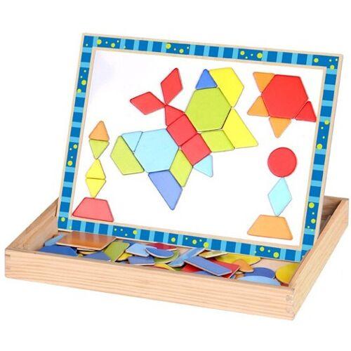 Tooky Toy magnetpuzzle junior 29,5 x 22 cm Holz 79 teilig