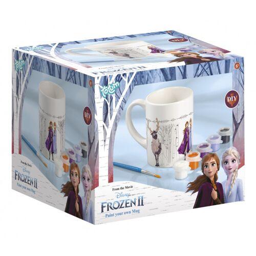 Totum bemalen Sie Ihre Tasse Frozen II Mädchen weiß 3 teilig