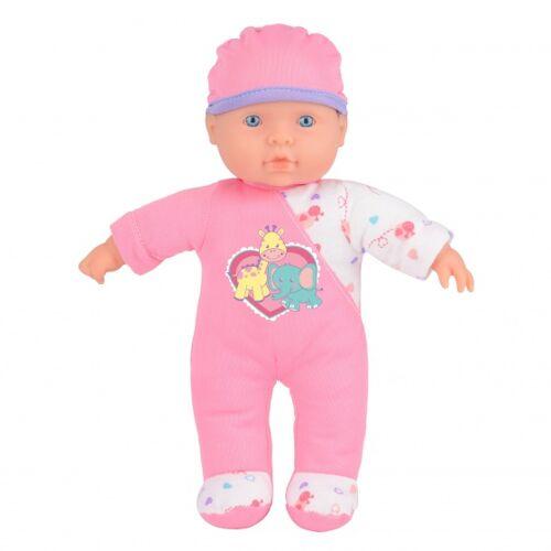 Toyrific Kuscheln Babypuppe interaktiv Sophia 24 cm rosa