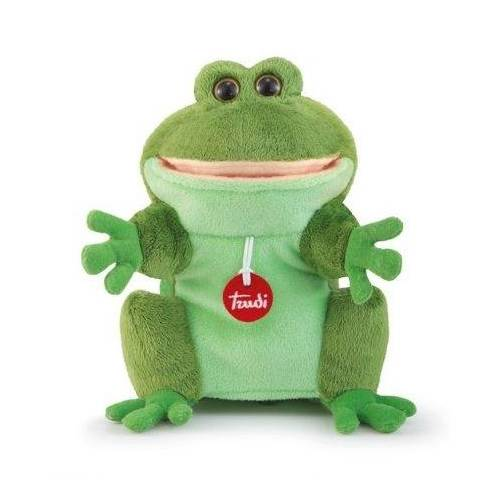 Trudi Handpuppe Frosch 25 cm grün