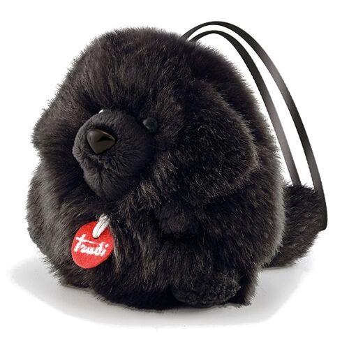 Trudi kuscheliger Hund schwarz 11 cm