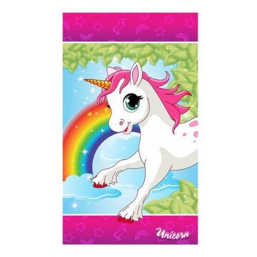 Unicorn teppich Einhorn geführt Mädchen 72 x 120 cm Polyester