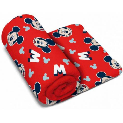 Arditex handtuch Mickey Mouse Polyester 150 x 95 cm rot