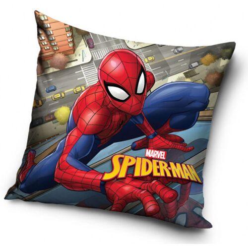Marvel kissen Spider Man city 40 x 40 cm Polyester rot