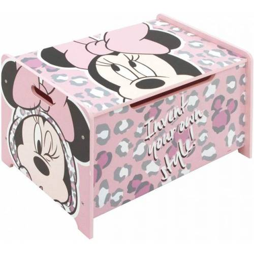 Disney aufbewahrungsbox Minnie Mouse junior 62,5 cm Holz rosa