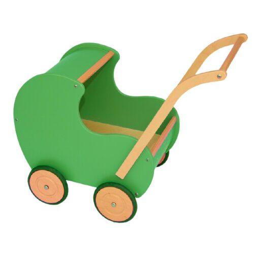 Van Dijk Toys puppenwagen retro 50 cm grün
