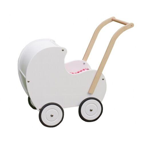 Van Dijk Toys puppenwagen retro 50 cm weiß