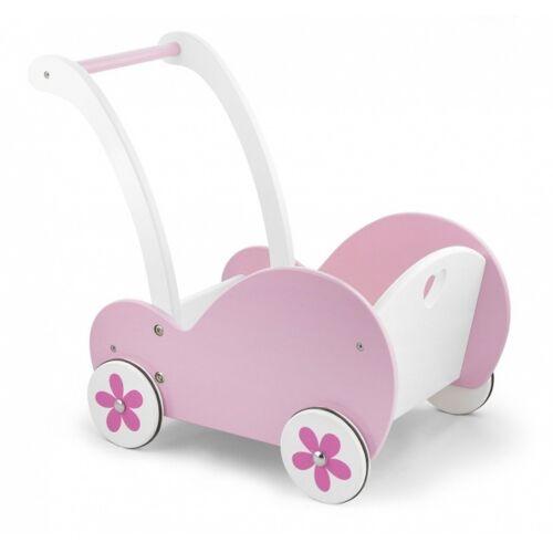Viga Toys holzpuppen Kinderwagen 48 cm rosa