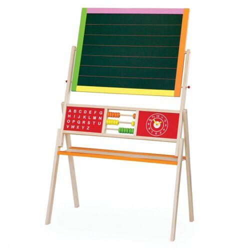 Viga Toys tafel und magnetische Weißwandtafel Junior 155 cm Holz