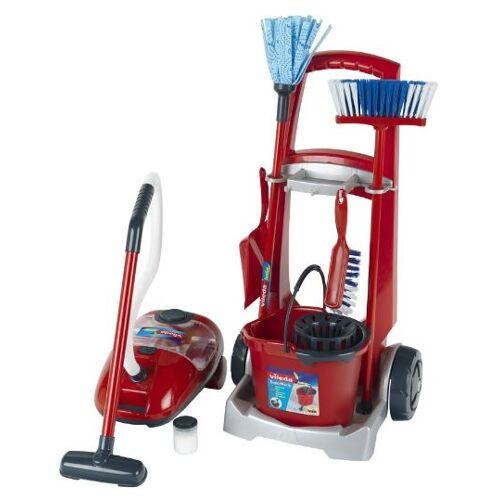 Vileda reinigungswagen mit Staubsauger  7 teilig