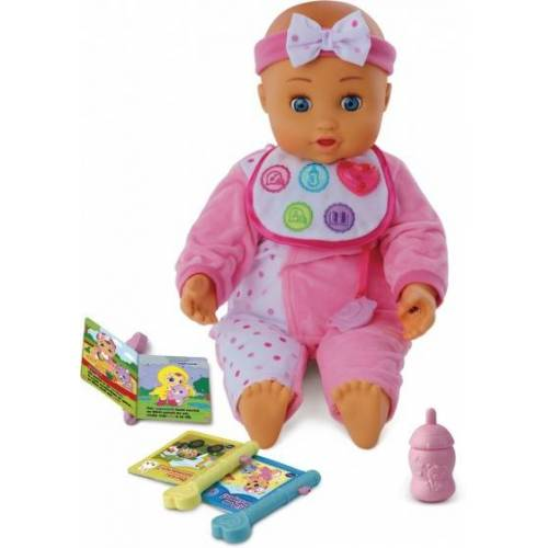 VTech Little Love babypuppe Eva's First Words 40 cm rosa