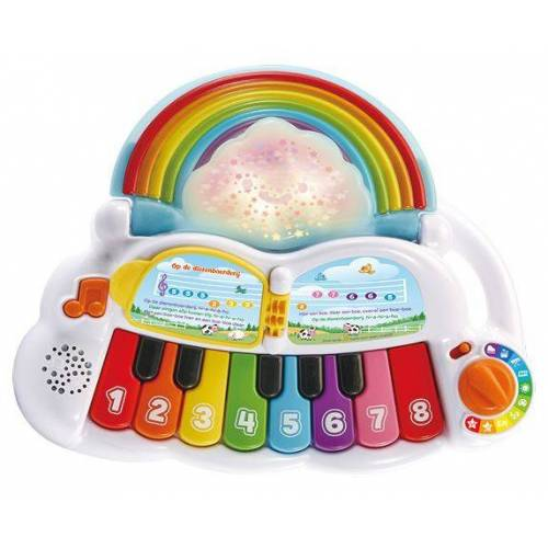 VTech Magic Rainbow Piano 35 cm weiß