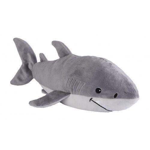 Warmies wärme kuscheliger Hai 35 cm grau