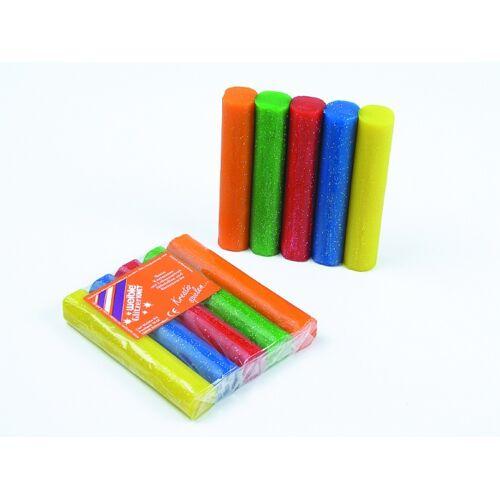 Weible Knet Glitter Clay 5 Farben
