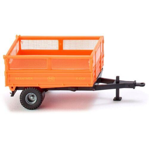 WIKING miniatur Kipper 1Brantner Single Axle:87 orange