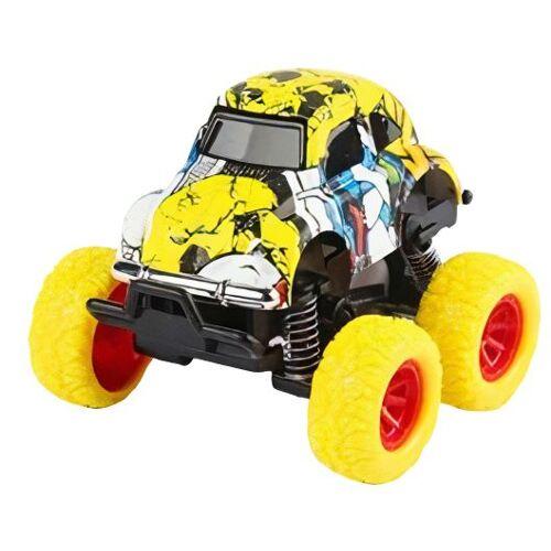 Wild Autocross muster LKW Jungen 9 cm Stahl gelb